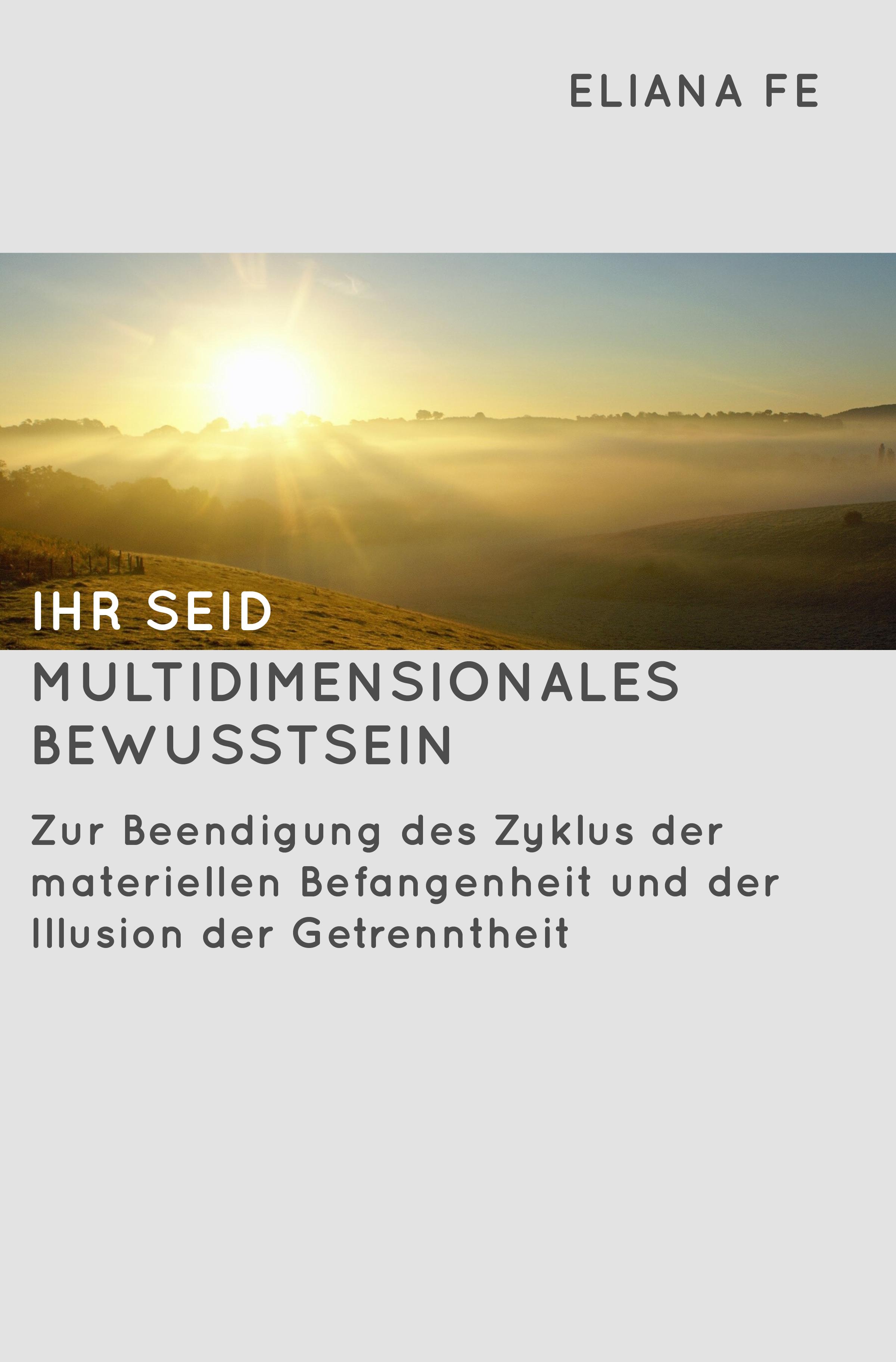Buch 'Ihr seid multidimensionales Bewusstsein'